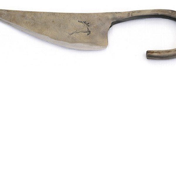 Handgeschmiedete Salami- und Salsiz Messer